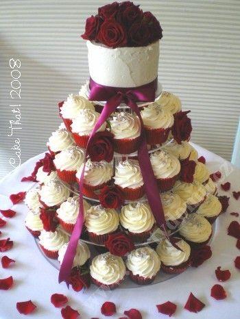 cupcake redrose
