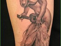 ... tatoo on Pinterest | Hula Girl Tattoos Hula Girls and Sailor Jerry