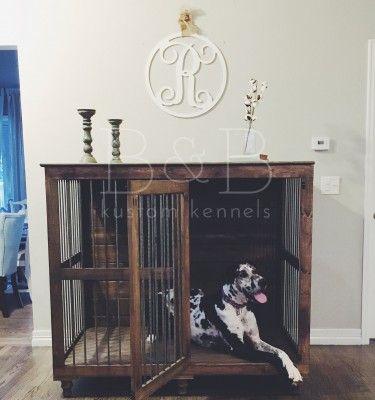 great dane dog kennel