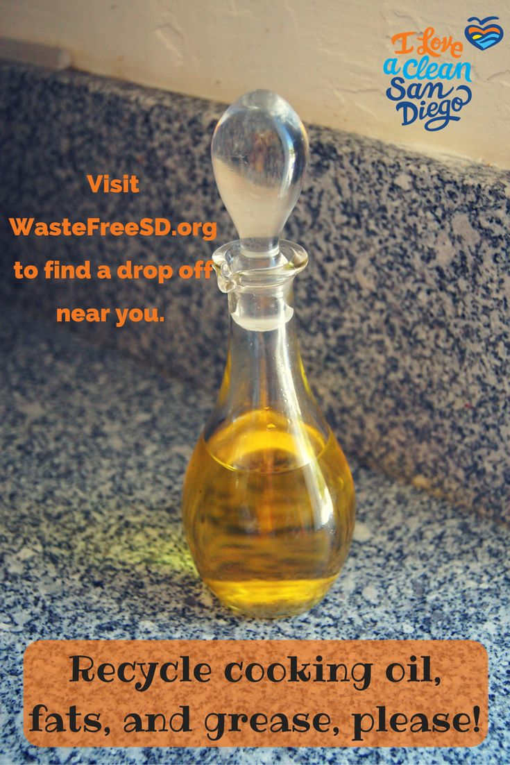 Did you use any cooking oil this holiday season? Don't dump cooking oil, fats, or grease down the drain! It all leads to the ocean and causes major back ups in the piping system. Collect the liquids after cooking and place in a seal-able container. Cooking oil can be recycled at many facilities around San Diego, to find one near you visit WasteFreeSD.org.