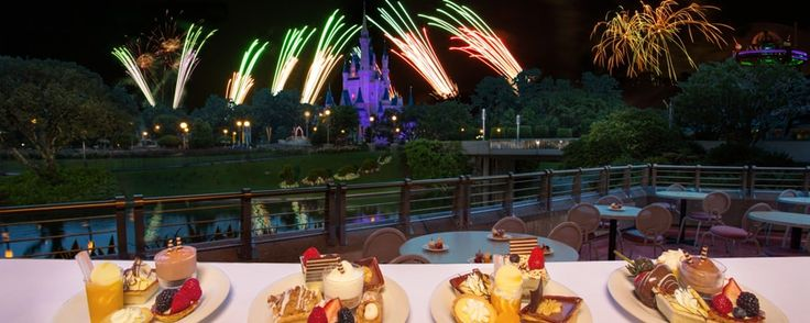 Feast on delectable desserts before soaking up the sights and sounds of Magic Kingdom fireworks from a prime reserved location!