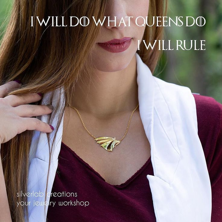 """"""" I will do what queens  do I will rule"""""""