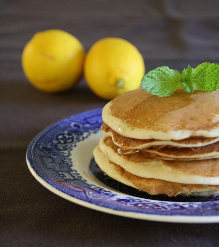 Luchtige citroenpannenkoeken § Airy lemon pancakes