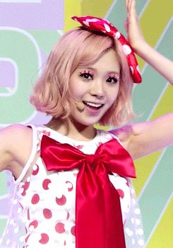 Lizzy Park Orange Caramel Catallena Cute Red and White GIF