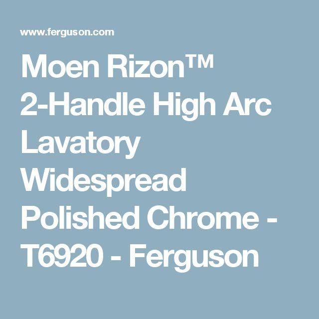 Moen Rizon Two Handle Widespread