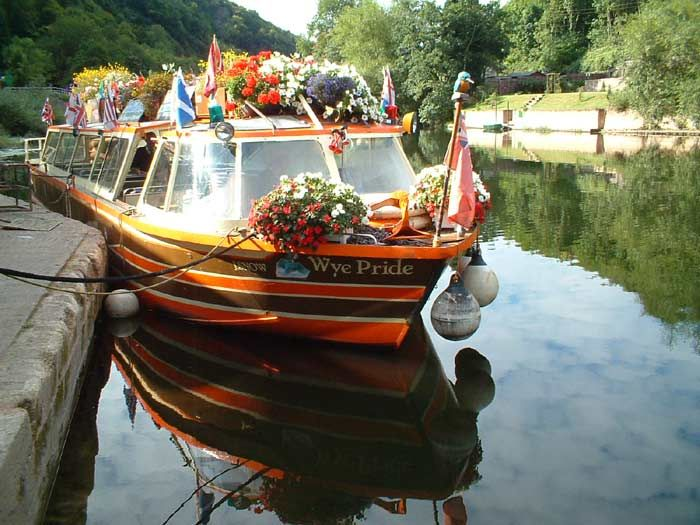 Kingfisher Cruises, Symonds Yat East, Ross-on-Wye, Herefordshire - Wyenot.com