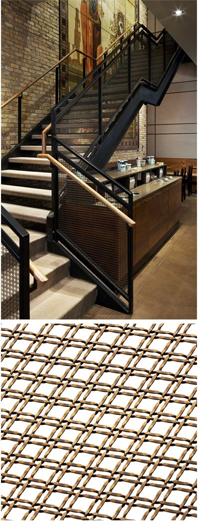 Best images about banker wire mesh interior railing