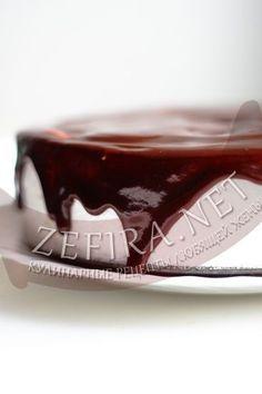 Шоколадная глазурь из какао на торт - рецепт и пошаговые фото