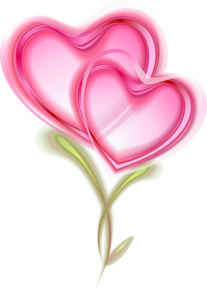 Two Pink Hearts.......so sweet!!