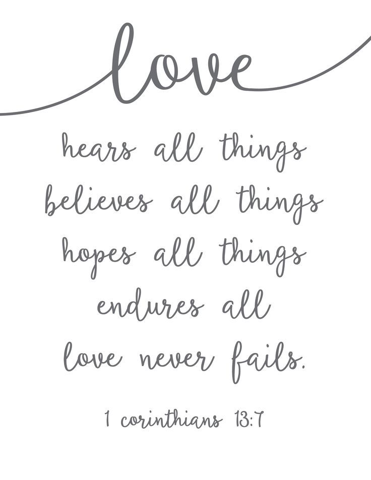 Love Never Fails – Free Printable! | Quotes, Scripture ...