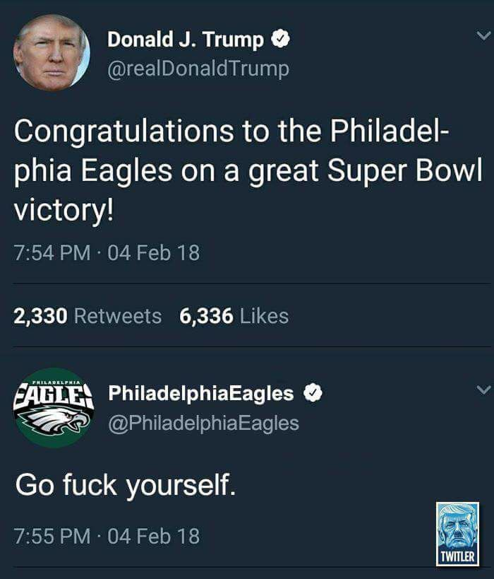 Okay I don't follow sports but I fucking love this!