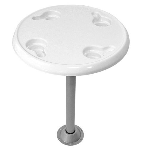 Round Pontoon Boat Tables | PontoonStuff.com