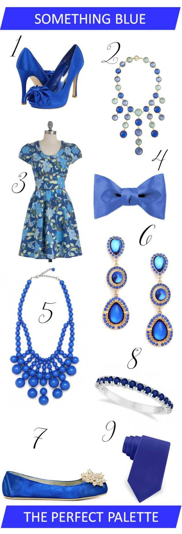 Style Inspiration - Something Blue: The Perfect Palette