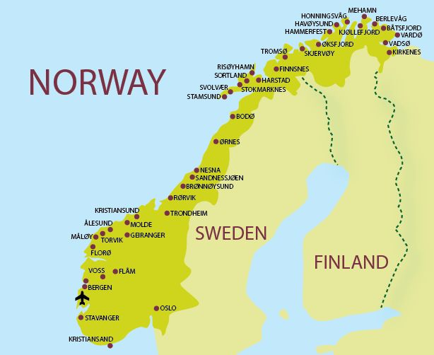 Besides The Seed Vault Norway Maintains A Nordic Welfare Model - Norway map tromso
