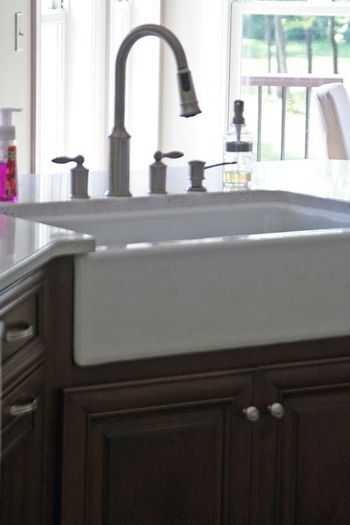 farmhouse sink- need this for the new house!