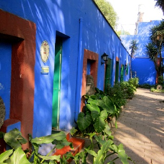 Frida Kahlo Museum (also known as the Blue House), Mexico City
