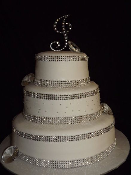 Cakes With Bling Birthday Cake Bling By Tiffany