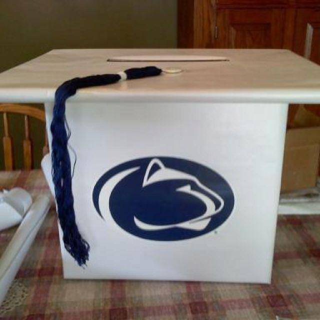 Homemade Graduation card box