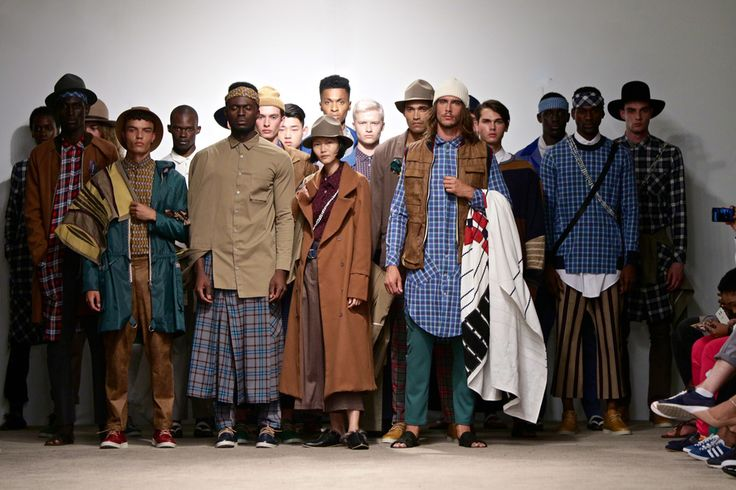 ALC Menswear AW17: Finale -- Photo: Simon Deiner at South African Menswear Week