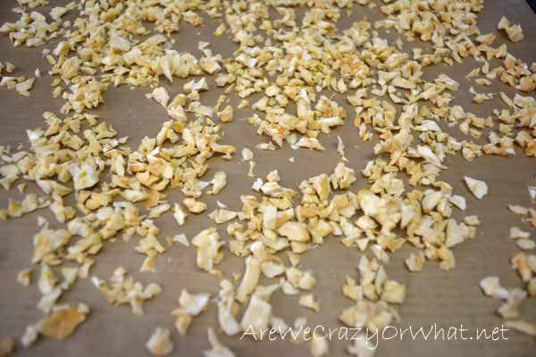 How To Dehydrate Garlic — Plus Making Garlic Powder~AreWeCrazyOrWhat.net