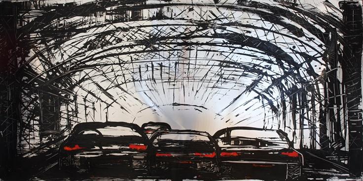 "Mina Papatheodorou Valyraki: ""Horizontal Bridge aluminum"", 2012"