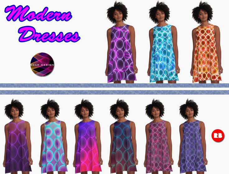 Modern Circles  Pattern Dresses by Scar Design #modern #dress #dresses #moderndress #scardesign #gifts #clothing #buymoderndress #pattern #patterndress #cooldresses #springdress #summerdress #modernspringdress #modernsummerdress #fashion #women #giftsforher #womensfashion #fashiongifts #colorful #style #redbubble #onlineshopping