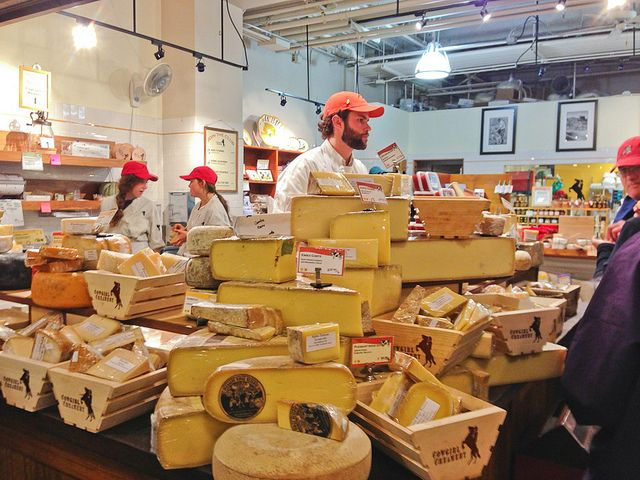 Cow Girl Creamery, a wonderful local cheese shop in the San Francisco Ferry Building