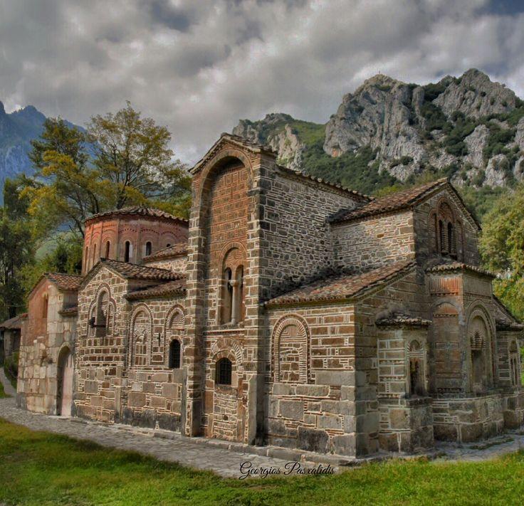 """PORTA PANAGIA""""...BYZANTINE CHURCH.....( 13th century),in PYLI - TRIKALA...THESSALY...GREECE....."""