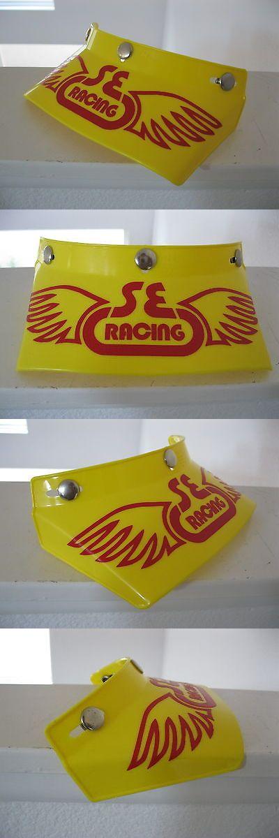 Helmet Accessories 177865: Vintage Motocross Nos 80S Bmx Se Racing Hallman Visor, Jt Racing ,Dg, Motopeak BUY IT NOW ONLY: $69.99
