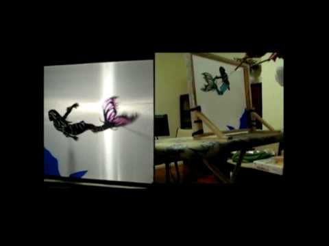 How to make a shadow puppet screen