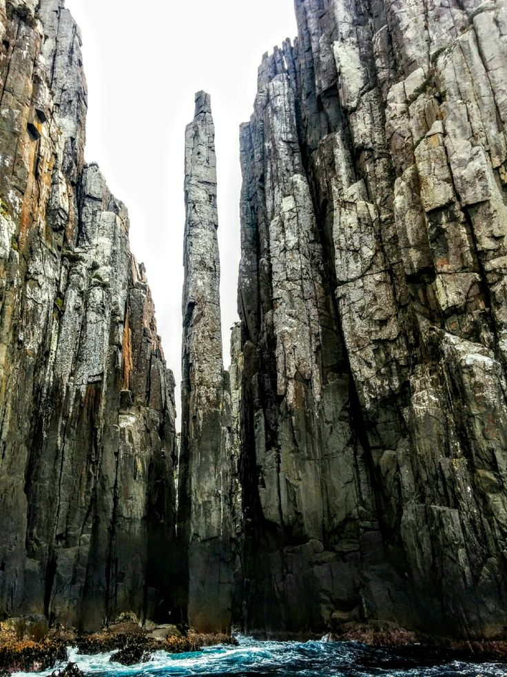 The Totem Pole in Tasmania, a stunning dolomite rock formation just a few hours from Hobart.