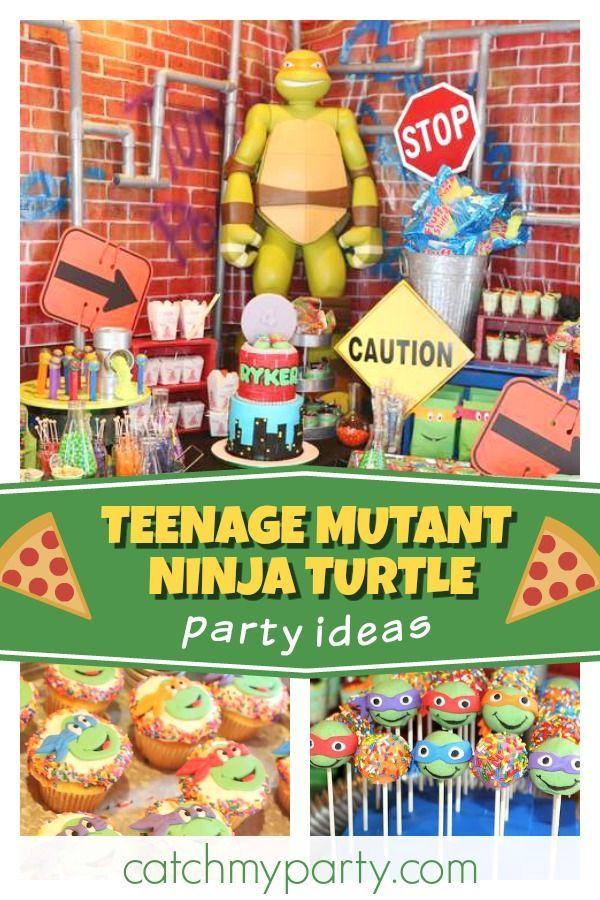 Tmnt Birthday Ryker S Tmnt Birthday Party Tmnt Birthday Ninja Turtle Birthday Fun Birthday Party