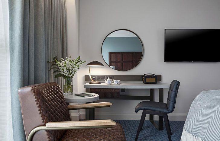 Орнаменты и колониальный стиль: отель Tamburlaine в Кембридже | Пуфик - блог о дизайне интерьера