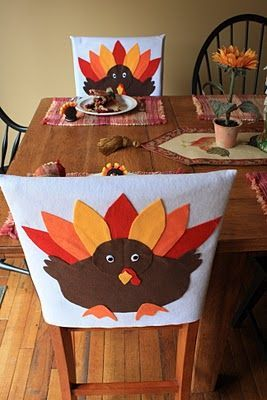 Christmas Chair Covers Pinterest Ergonomic Miller Easy To Make Turkey Sewing In 2019