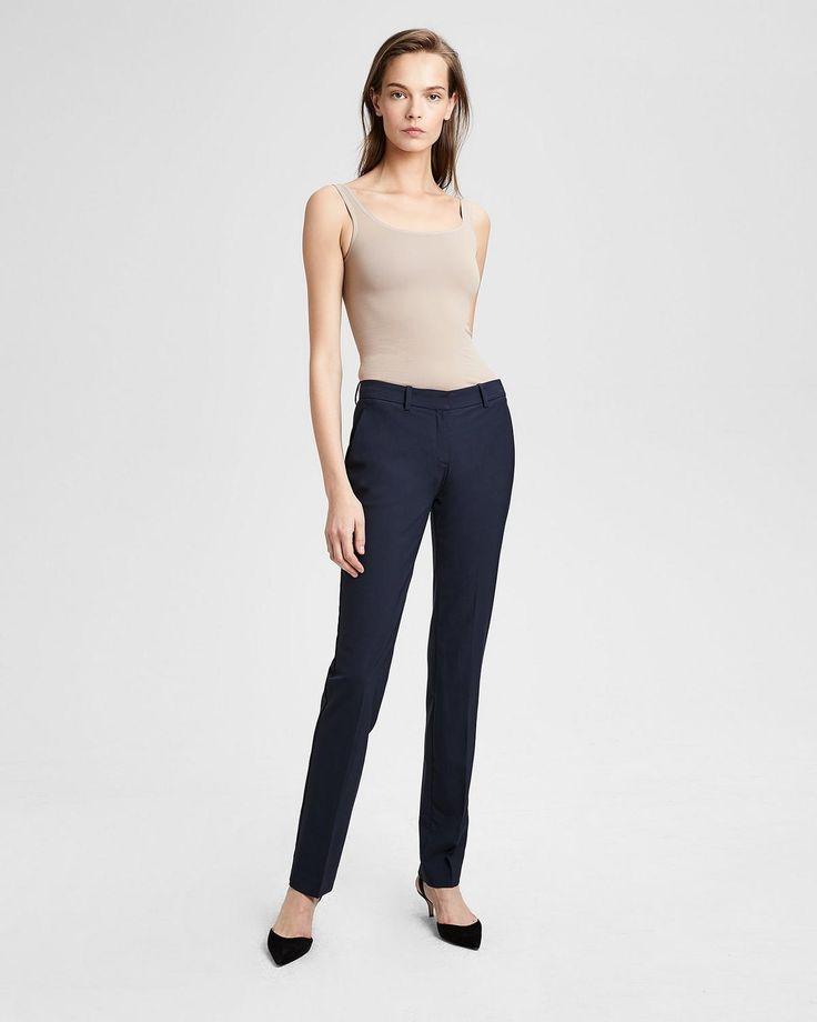 Italian Stretch Wool Slim Pant