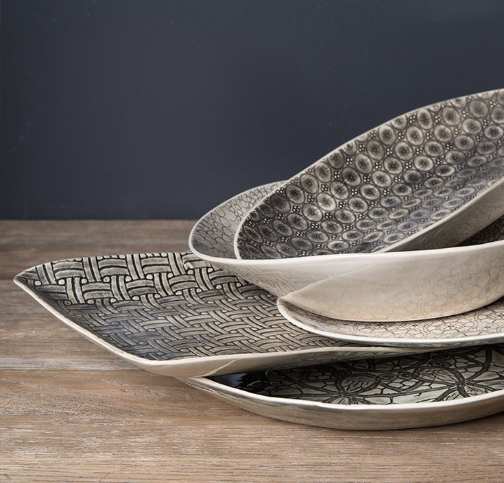 BLACK IS BACK. Stoneware Crockery in Black and White. Discover our extensive collection of crockery at www.shf.co.za