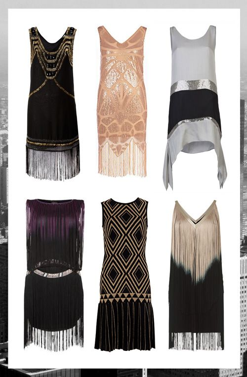 The Great Gatsby – Art Deco Flapper dresses « Annielka magazine