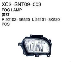 XC2-SNT09-003 Fog lamp R92102-3K520 L92101-3K520 PCS Auto Parts,car body parts,head lamp,fog lamp,tail lamp,bumper,hood,side mirror replacement http://www.jsxcauto.com/