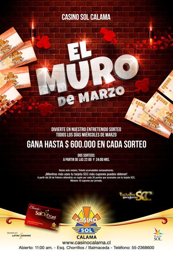 Diseño Casino Sol Calama by Esteban Alfredo Mamani Ramírez, via Behance