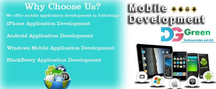 #DGGreenTechnocratesPvtLtd Is A #Mobile_Application_Development_Company in India.
