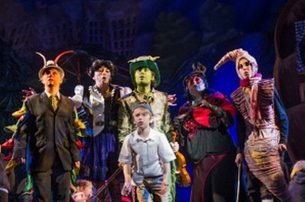 """""centipede"" James and the giant peach ""musical"" - Google Search"