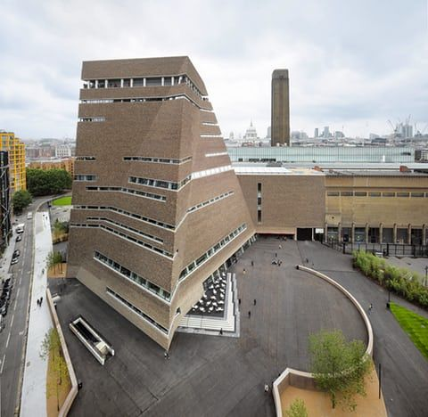 Tate Modern Switch House by Herzog & de Meuron, London