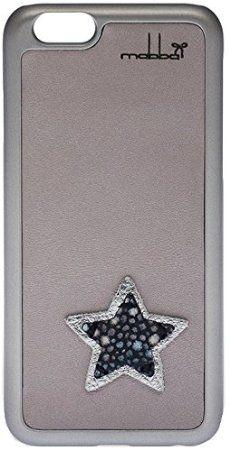 Amazon.co.jp: mabba ( マッバ ) ドイツ の ロマンチック スター iphone6ケース 本革 Sternwicht Ray iPhone 6 Case Stern Rochen 革 ケース グレー アイフォン カバー iPhone6 apple6 モバイルケース 保護シート ゲット 海外 ブランド: 家電・カメラ