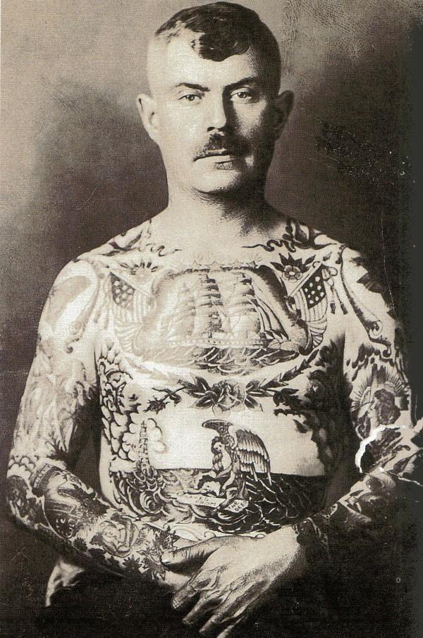 early 1900 percy waters tattoos