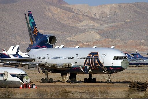 American Trans air boneyard Picts | N190AT in service with AerLingus