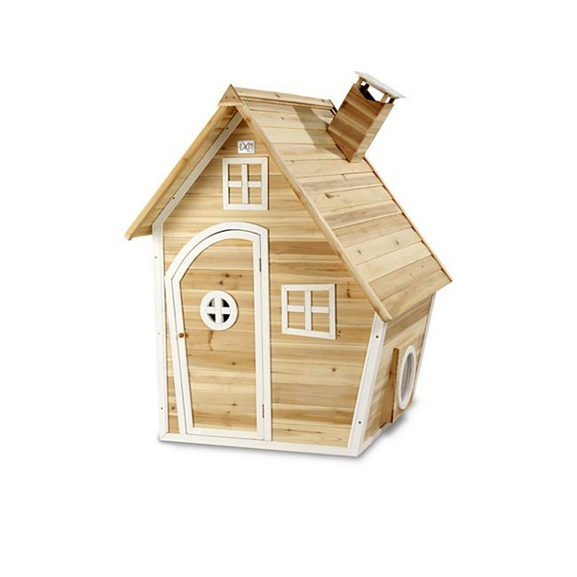 Exit Holzspielhaus Fantasia 100 Natur Online Kaufen Netto 350 Euro Spielhaus Aus Holz Kinder Spielhaus Garten Fantasia