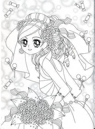 coloring book mama mia picasa albums web princess coloringanime