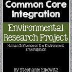 This project is designed to guide students with exploration and development of an environmental research project. Students choose from two possible...