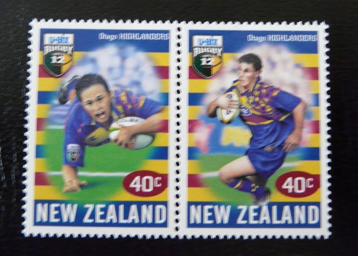 Set of Super 12 rugby stamps from New Zealand  For more #rugby collectables check out my blog http://r0cky-rugby.blogspot.com