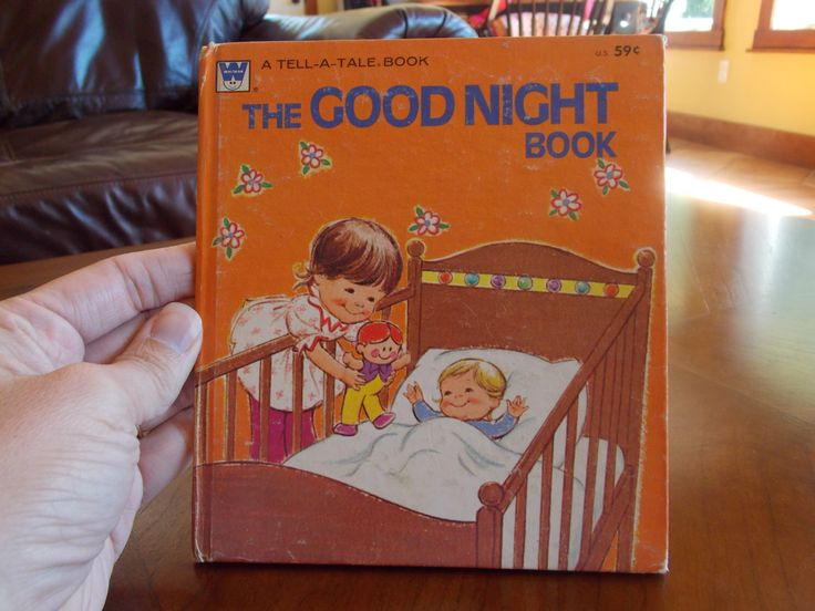 The Good Night Book  A personal favorite from my Etsy shop https://www.etsy.com/listing/501252443/the-good-night-book